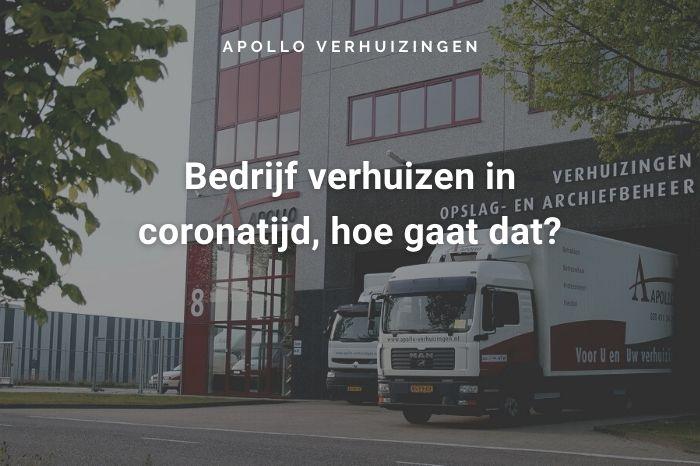 Verhuizen Corona Amsterdam